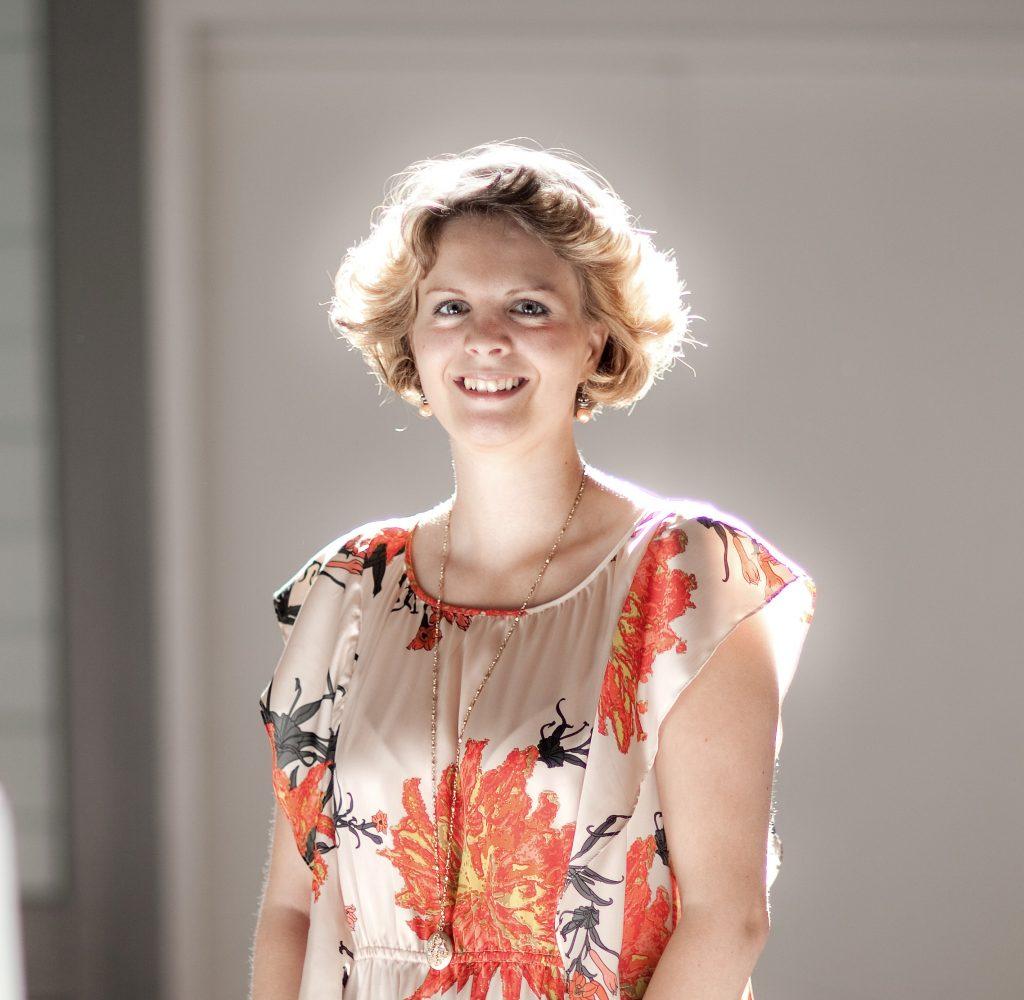 Rie Damgaard portræt.